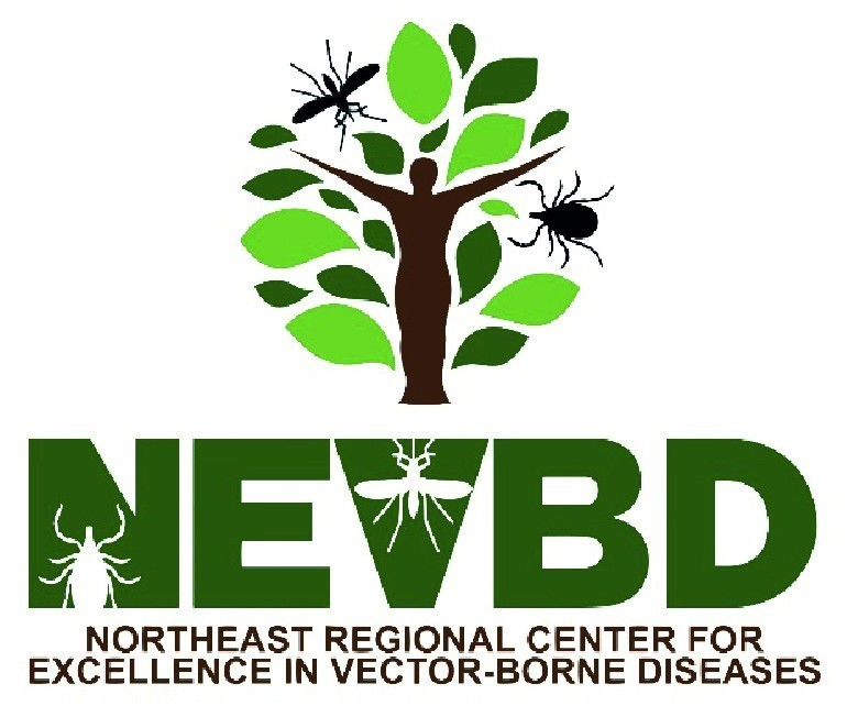 The logo of the Northeast Center of Excellence for Vector-borne Diseases